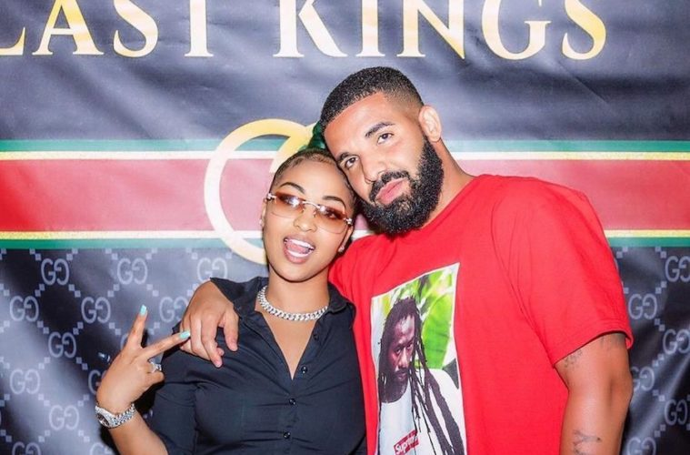DRAKE AND SHENSEEA LINK UP